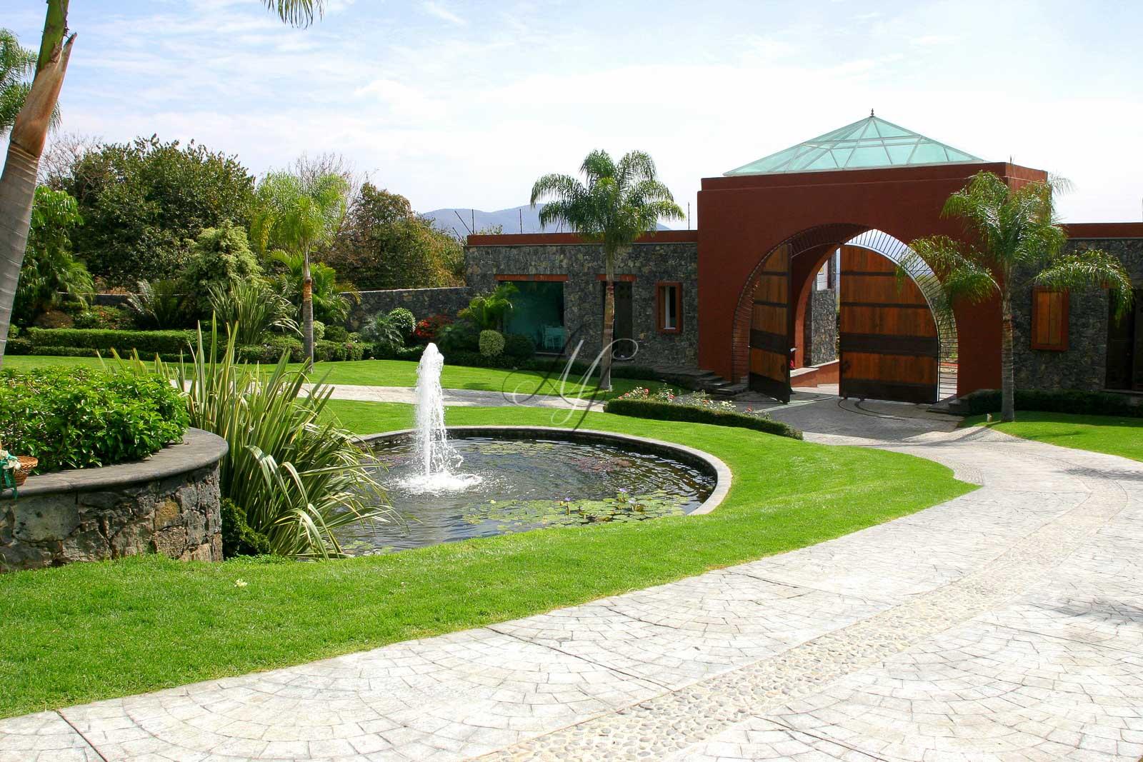 Jardin de jardines y haciendas para bodas y banquetes en Jardin villa serrano cuernavaca